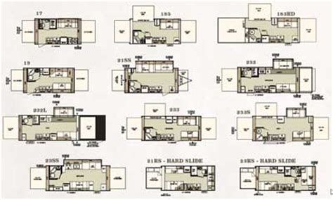 forest river floor plans 2007 surveyor travel trailer floor plans meze blog