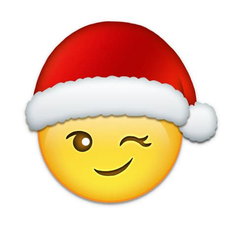 images of christmas emojis emoji added sticker with christmas santa holiday on the