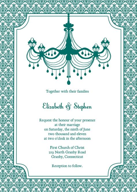 wedding invitation template 10 free printable wedding invitations diy wedding
