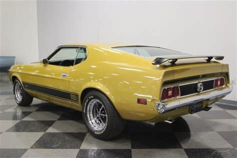 Mach 1 Mustang Automatic by 1973 Ford Mustang Mach 1 Fastback 1973 Mach 1 Used