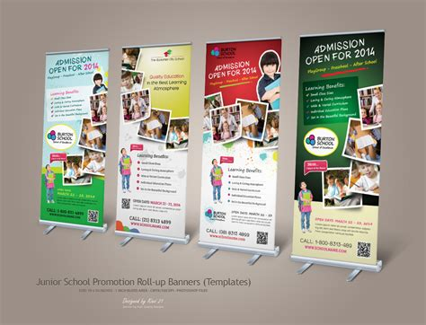 banner design of school 16 promotion banner designs design trends premium psd