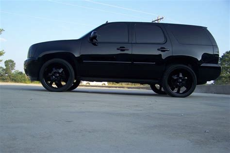 suv blacked out blacked out tahoe suv s