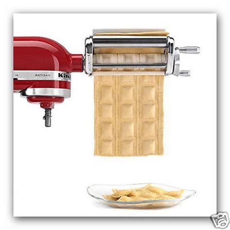 Ravioli Maker Pasta Machine Attachment Dough Krav My Kitchen Pasta Machine