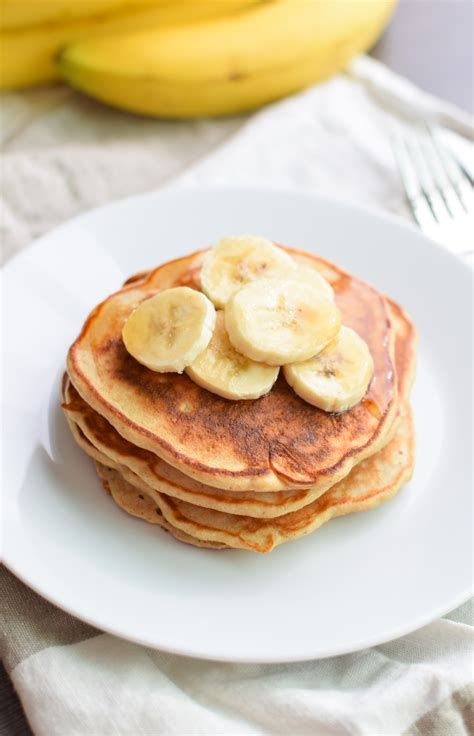 protein powder pancakes banana protein pancakes from project meal plan