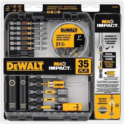 DEWALT MAX Impact Bit Set (35 Piece) DWAMI35   The Home Depot