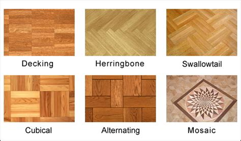 Flooring Services Setting The Floor And Parquet Tiles In