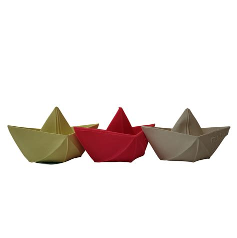 origami floating bath boat choose from 3 colours