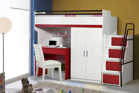 Bunk Bed With Wardrobe Looking For Pragmatic And A Space Busing Furniture