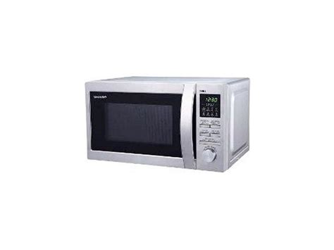 electronic city sharp microwave oven grill silver r 730in st