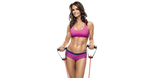 Football Toaster Karen Mcdougal Shares Her Workout Schedule And Fitness