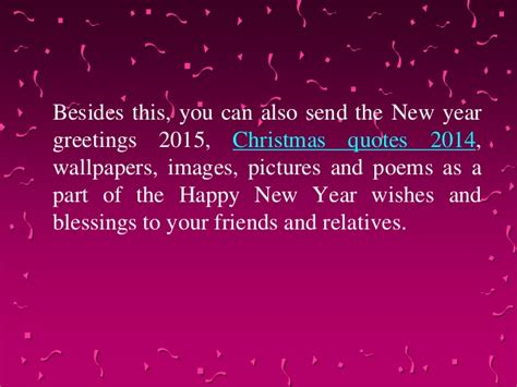 new year blessings 2015