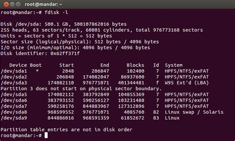 format hard disk using fdisk command linux fdisk