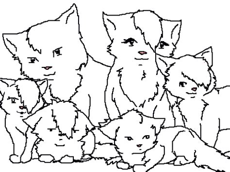 cat family coloring page cat family coloring pages pictures to pin on pinterest