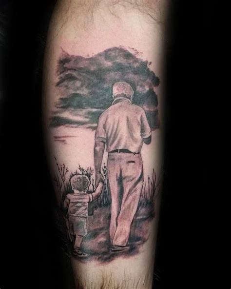 tattooed grandpa 40 tattoos for tribute ink design ideas