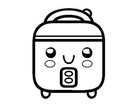 dibujos de utensilios de cocina para imprimir dibujo de robot de cocina para colorear dibujos net
