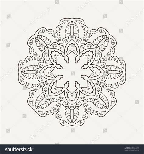 tattoo oriental mandala mandala design mehndi lace tattoo oriental stock