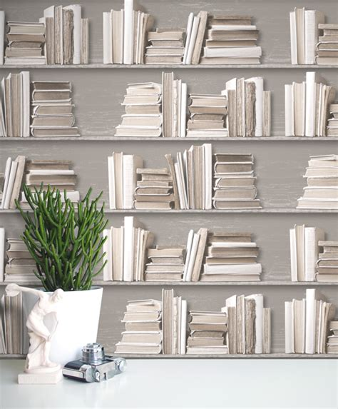 bookshelf wallpaper wye vintage books wallpaper