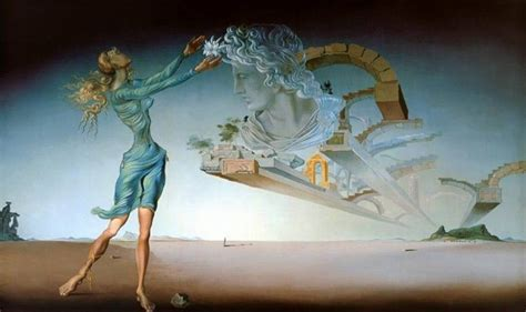 dal the paintings mirage 1946 by salvador dali