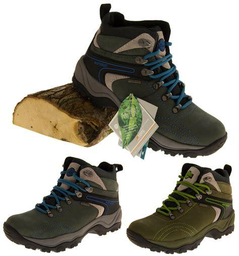 Airwalk Hiker Leather Syn Brown womens leather northwest territory hiking walking waterproof resistant boots ebay