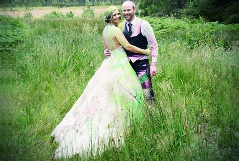 top reasons to have a trash the dress photoshoot h photography scottish couple have the best trash the dress shoot ever