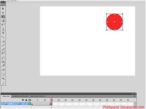 membuat iklan animasi dengan adobe flash belajar dasar adobe flash membuat animasi sederhana webpasti