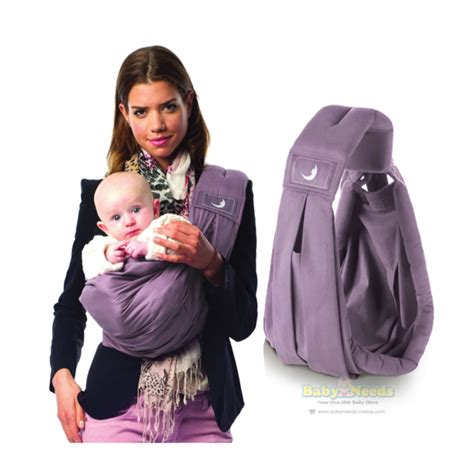 New Baba Slings Stripe the baba sling the baba sling classic lavender baby needs store malaysia