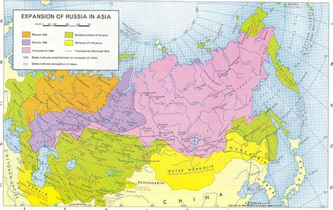 map of europe russia and central asia 445