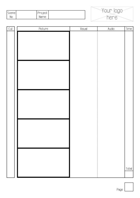 storyboard template by greyfaerie4 on deviantart