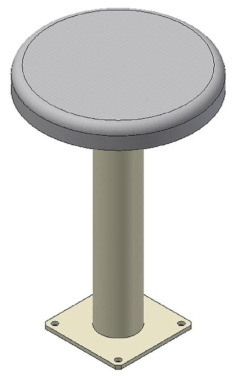 Floor Stool by Floor Mount Stool Iowa Prison Industries