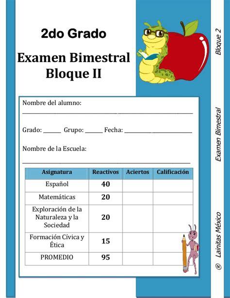 examen de la ugel de cuarto grado de primaria2016 2do grado bloque 2