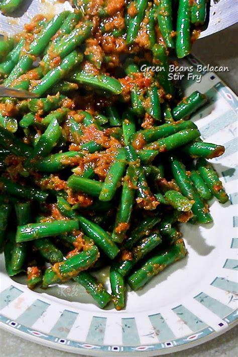 Green Bean Ejmi 60ml green beans belacan stir fry roti n rice