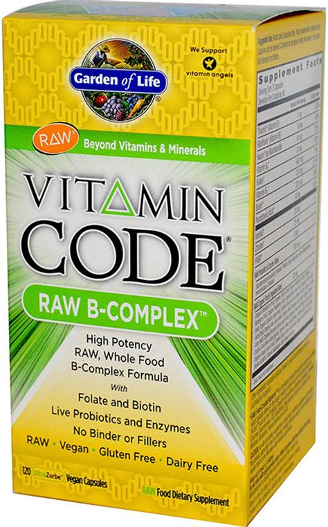 Garden Of Vitamin B Complex Garden Of Vitamin Code B Complex 120 Vegetarian