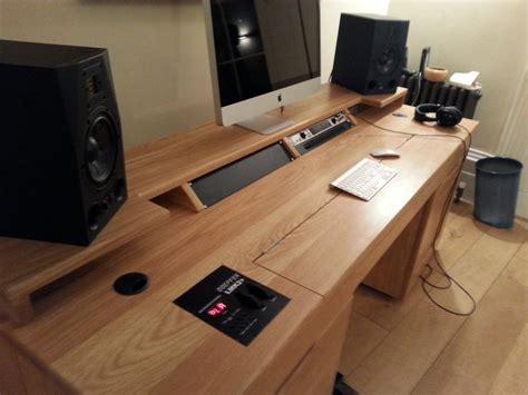 Custom Desk Ideas 17 Best Images About Desk Ideas On Home Recording Studios Custom Desk And Computer