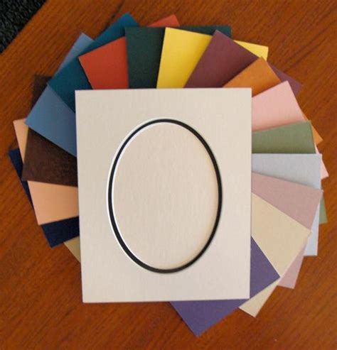 oval matting for pictures picture framing mat oval opening layer matting choose