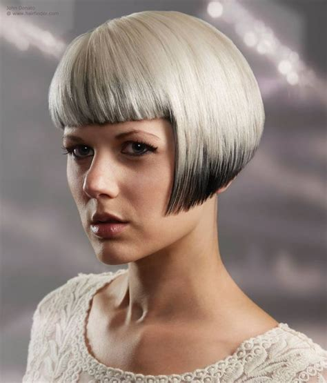 Lip Length Bob With Soft Fringe Front And Back Image | 312 best images about short bangs on pinterest bobs