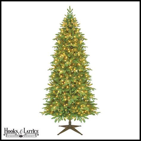 11ft pre lit artificial christmas 7 5 ft slim asheville pre lit fir artificial tree w clear lights