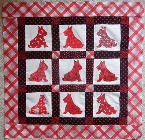 Scottie Quilt Pattern by 17 Best Images About Scottie Quilts On Quilt