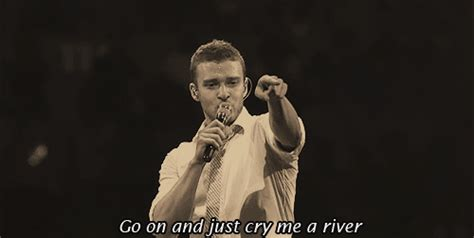 cry me a river justin timberlake cry me a river gif tumblr