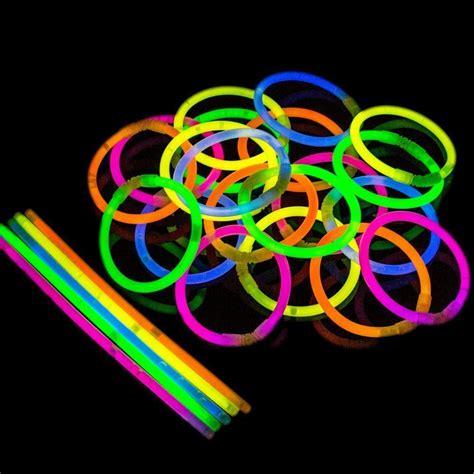 glow bracelets 100 sticks glow stick neon bracelets florescent firework
