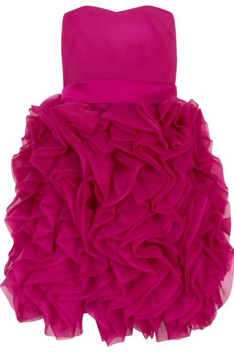 Dress Ruffle Dress pink ruffled dress
