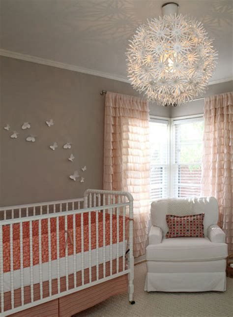 Light Gray Nursery Ideas Nursery Lights
