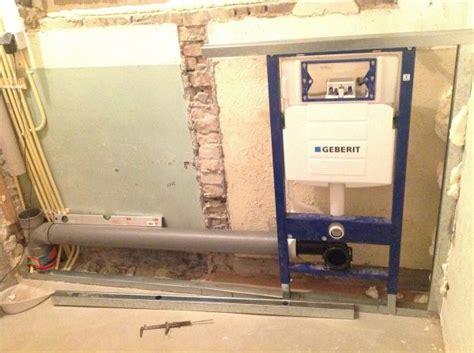 inbouw wc inbouwen wc met inbouwreservoir plaatsen