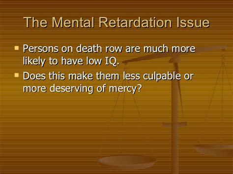 mental disability and the penalty the shame of the states books ch 19 sentencing and