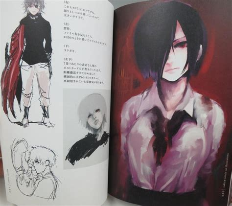 tokyo ghoul illustrations zakki books tokyo ghoul zakki sui ishida book book ebay