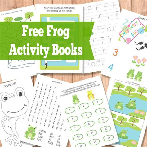 printable activities for children s books frog activity books itsy bitsy fun