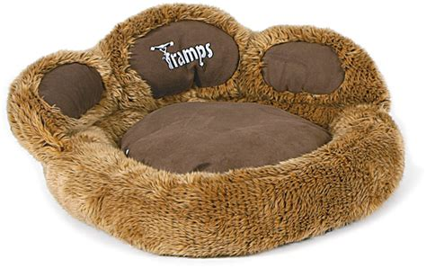 cool cat beds trs paw brown the coolest of cool cat beds this paw shaped cat bed is the