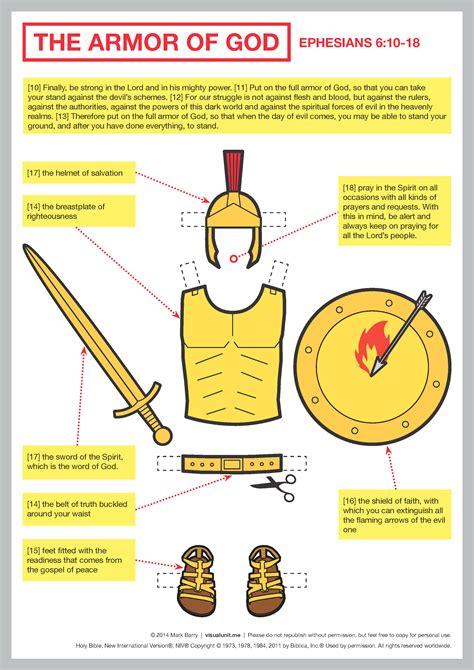 armor of god diagram the world s catalog of ideas