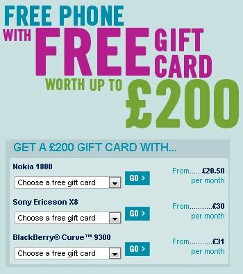 Carphone Warehouse Gift Card - carphone warehouse giving out free gift cards with smartphone contracts eurodroid