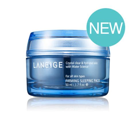 Laneige Firming Sleeping Pack get pretty with me laneige firming sleeping pack