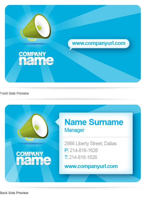 mansy design tools free psd business card template in